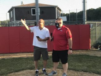 Historic night under the lights for Mountain Top Little League