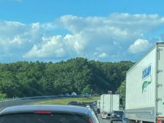 I-81 southbound in Luzerne County closed due to crash