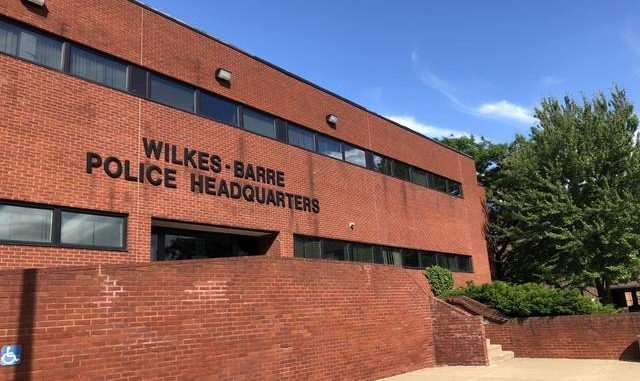 The Wilkes-Barre Police Department headquarters is seen recently. Times Leader file photo