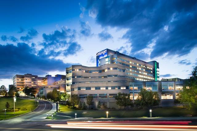 <p>Geisinger Medical Center in Danville is one of two Geisinger facilities named to Newsweek's 2020 list of Best Maternity Care Hospitals.</p> <p>Submitted photo</p>