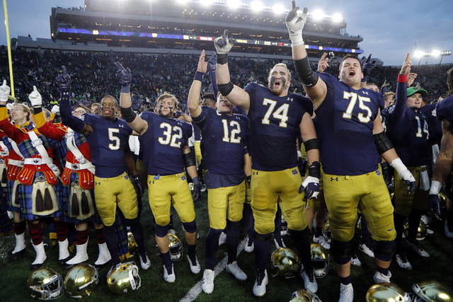 Ap Sources Acc Notre Dame Eye Temporary Football Membership For 2020 Season Times Leader