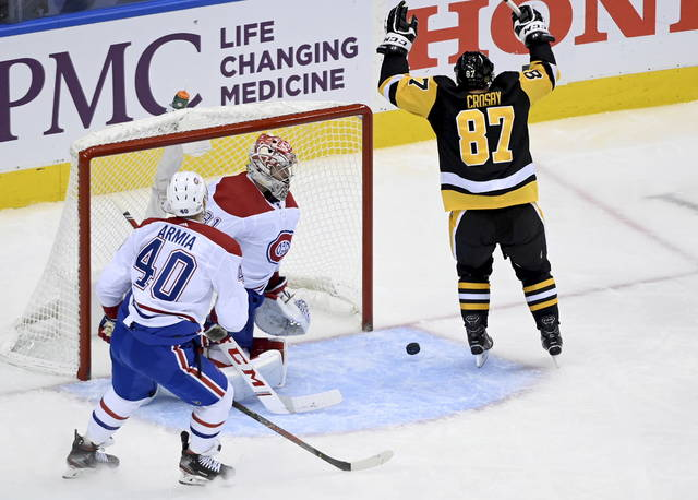 Penguins hold off Canadiens 3-1 to knot up playoff qualifier series