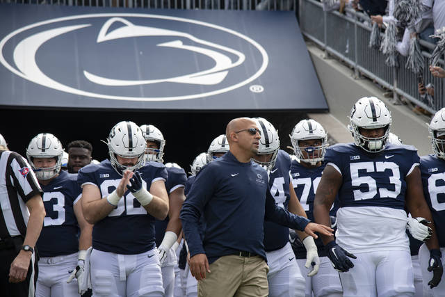 Penn State scheduled to open 10-game season Sept. 5 vs. Northwestern