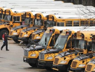 Districts go round and round on school bus reopening plans