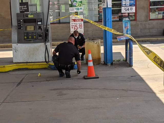 Hanover Township police investigating shooting at gasoline service station