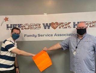 Family Service Association of NEPA draws shopping spree winner