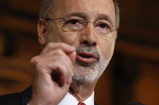 Governor Tom Wolf's statement on scholastic and recreational youth sports