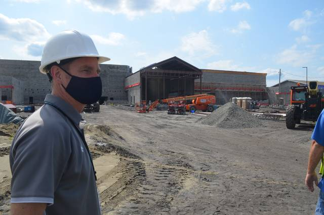 New look at W-B Area construction shows major progress