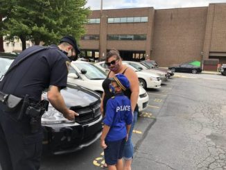 Public shows support for Wilkes-Barre police with 'Adopt a Cop' event