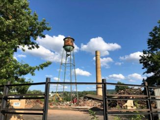 Smoke stack, water tower all that remain as Murray demo moves ahead
