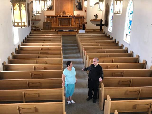 A quiet farewell: Parish prepares to sell historic Loomis Street church