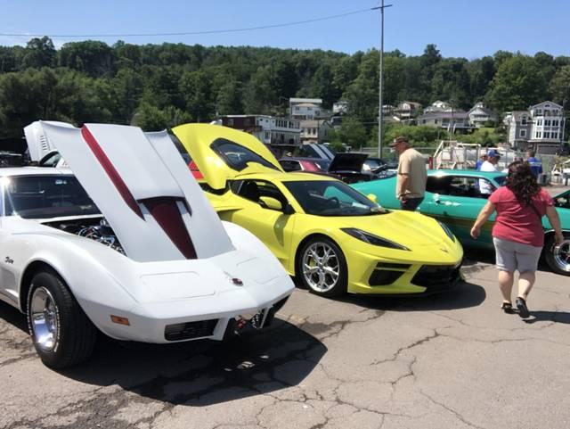 Car show benefits Back Mountain Bobcats football team