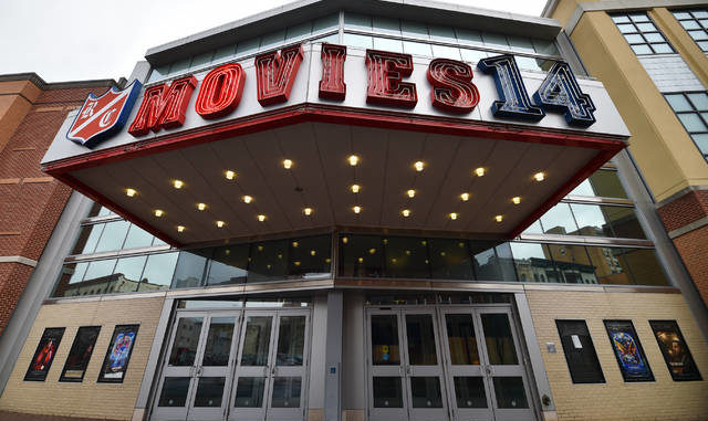 Movies 14 on Northampton Street in Wilkes-Barre is seen in a file photo. Times Leader file photo