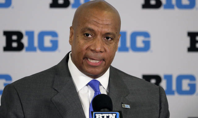 New Big Ten commissioner Kevin Warren has said that the decision to postpone fall sports won't be revisited, but one plan to resume the season involves starting at the end of November rather than January. Charles Rex Arbogast | AP file photo