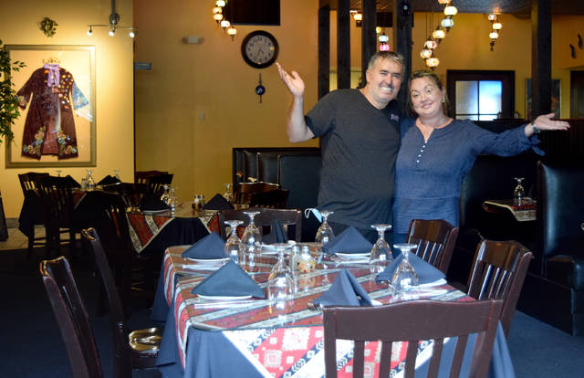 Enis and Elif Kacor are owners of Istanbul Grill with locations in Wilkes-Barre and Dallas.