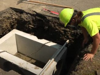 Stormwater fee-funded catch basin project topic of WVSA video
