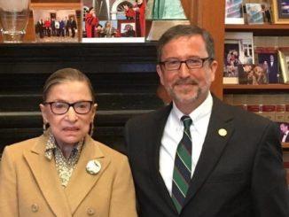 Cosgrove recalls Ginsburg as friend, 'gracious' teacher
