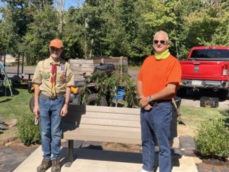 Teen completes Eagle Scout project