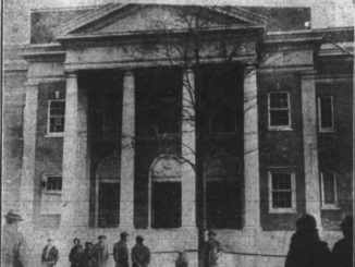 Look Back: West Pittston High School damaged in 1927 bombing