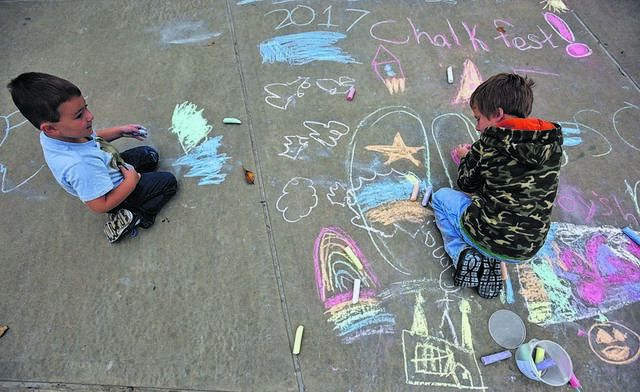 Chalk Fest planned for Oct. 3 at Millenium Circle