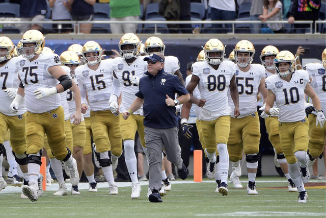 Saturday's Notre Dame-Wake Forest game postponed after Irish positive tests