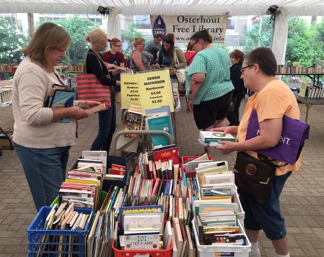 Friends of the Osterhout Free Library plan sidewalk sale
