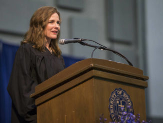 Amy Coney Barrett, high court pick, is Scalia's heir