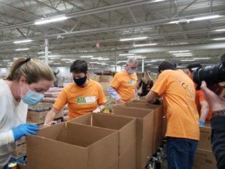 State officials visit Weinberg Food Bank during Hunger Action Month