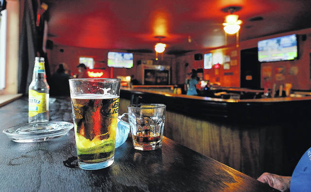 <p>Patrons of the Lighthouse Inn in West Wyoming take social distancing seriously.</p>                                  <p>Fred Adams | For Times Leader</p>