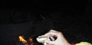 The Times Leader test kitchen moved outdoors last week, to a section of the Appalachian Trail in upstate New York, where one of our test cooks carried the ingredients to assemble s'mores.                                  Mark Guydish | Times Leader