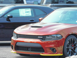 An unsold 2020 Charger sedan sits at a Dodge dealership in Littleton, Colo. The best thing you can do for your car's value is to take care of it.                                  AP photo