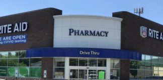 The Rite Aid Pharmacy on River Street in Plains Township and all participating Rite Aid sores, are expanding COVID-19 testing at its drive-thru window.                                  Times Leader file photo