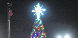 There will be a virtual tree lighting on Dec. 5 at 5:30 p.m. via Facebook live at the Downtown Pittston Partnership page. Due to COVID-19, the public is prohibited from attending. Violet Pantucci, the 2020 Christmas ambassador, will light the tree.                                  Tony Callaio file photo | For Times Leader