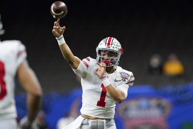 Fields' day: No. 3 Ohio State routs No. 2 Clemson 49-28 in ...