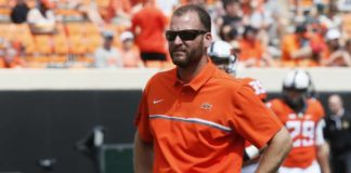 New Penn State coordinator Mike Yurcich has helped oversee some of the nation's top offenses in recent years at Oklahoma State, Ohio State and Texas.                                  Sue Ogrocki | AP file photo