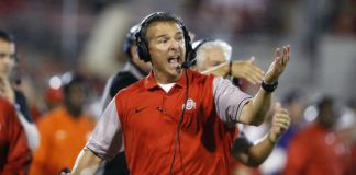 Urban Meyer won three national titles as a head coach between Florida and Ohio State, but now he's making the jump to the NFL with the Jacksonville Jaguars.                                  Sue Ogrocki | AP file photo