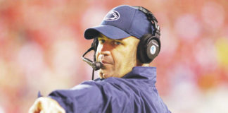 Former Penn State coach Bill O'Brien was officially named Alabama's new offensive coordinator on Thursday.                                  Nati Harnik | AP file photo