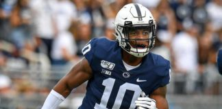 One of the top linebacker recruits in the country in 2019, Lance Dixon has entered his name in the transfer portal after recording 12 tackles in 12 career games at Penn State.                                  Penn State Athletics