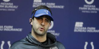 New Eagles coach Nick Sirianni plans to call plays this season, something he did not do as offensive coordinator for the Colts under former Philadelphia assistant Frank Reich.                                  Darron Cummings | AP file photo