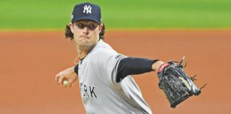 Gerrit Cole will lead the rotation for the Yankees, but they will need a deep cast behind him as teams try to navigate a return to a full schedule.                                  David Dermer | AP file photo
