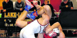 Wyoming Valley West's Ian Ratchford (top) is seeded first at 132 pounds, while Hazleton Area's Johnny Corra (bottom) is the second seed at 113.                                  Times Leader file photo