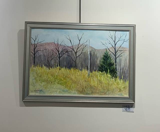 This Art in Nature exhibit can be viewed through the end of May during scheduled movie times or by appointment at the Dietrich Theater in Tunkhannock.                                  Submitted photo