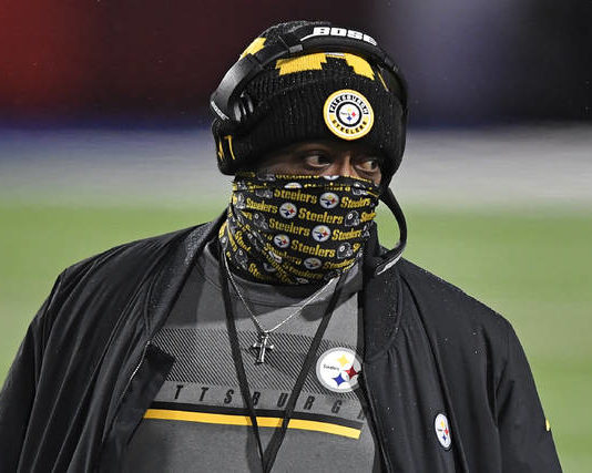 Steelers coach Mike Tomlin tested positive for COVID-19 last week, according to sources.                                  Adrian Kraus | AP file photo