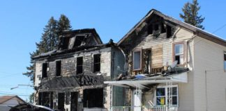 Wilkes-Barre has advertised for bids to demolish two fire damaged houses on Waller Street and will attempt to recover the costs from the properties' owners.                                  Jerry Lynott   Times Leader