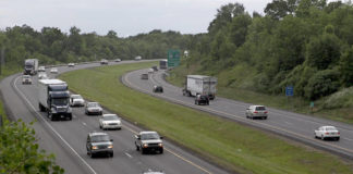 Rush-hour traffic on Interstate 81 at the Suscon Road overpass in Pittston Township in this file photo. While this stretch of the highway would not be affected, PennDOT's recently announced plan to toll nine bridges on interstates across Pennsylvania, including a nine-mile stretch along Interstate 81 in Susquehanna County, and the Nescopeck Creek bridges on Interstate 80 in Luzerne County, have raised concerns among business and community leader.                                  Times Leader file photo