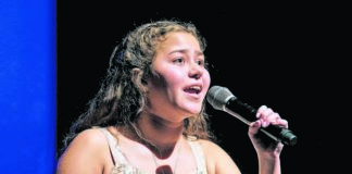 NEPA Sings contestant Marina Rinkunas sings at the Kirby Center for the Creative Arts on the Wyoming Seminary campus in Kingston during the 2019 competition. CASA of Luzerne County has announced auditions for this year's NEPA Sings event are now open.                                  Times Leader file photo