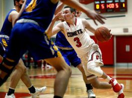 Crestwood's Ryan Petrosky and his teammates will have to deal with Chester's full-court trap defense and size advantage in Friday night's PIAA Class 5A state quarterfinal game.                                  Fred Adams | For Times Leader