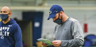 Penn State has had an 'accelerated' process for installing the offense under new coordinator Mike Yurcich, coach James Franklin said.                                  Mark Selders   Penn State Athletics