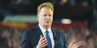Under commissioner Roger Goodell, the NFL is expanding the regular season for the first time since going from 14 to 16 games in 1978.                                  Charlie Riedel | AP file photo