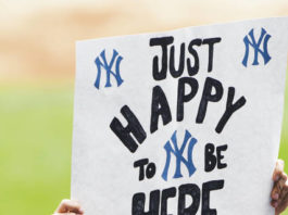 Fans were able to return in limited capacity to Yankee Stadium and the rest of the league's venues for Thursday's season-openers.                                  Kathy Willens | AP photo